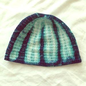 Vintage Tie Dye Knitted Baby Cap